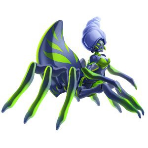 An image of the evaranae Monster in adult form