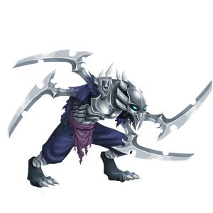 An image of the haku Monster in adult form