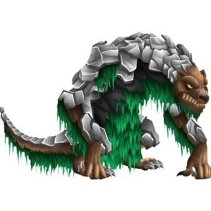 An image of the jonskeer Monster in adult form