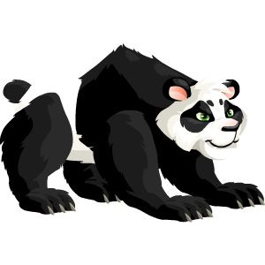 An image of the panda Monster in adult form