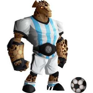 An image of the rockadona Monster in adult form