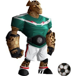 An image of the rockarito Monster in adult form