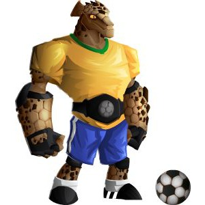 An image of the rockinho Monster in adult form