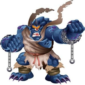 An image of the tartarus Monster in adult form