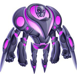 An image of the ultrabot Monster in adult form