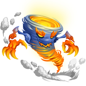 An image of the vapwhirl Monster in adult form