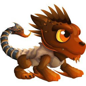 An image of the boneticore Monster in child form