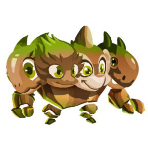 An image of the crushmore Monster in child form
