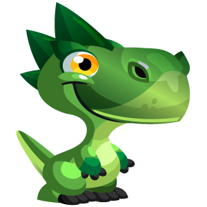 An image of the dendrosaur Monster in child form