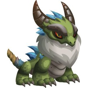 An image of the Dragonian Beast Monster in child form
