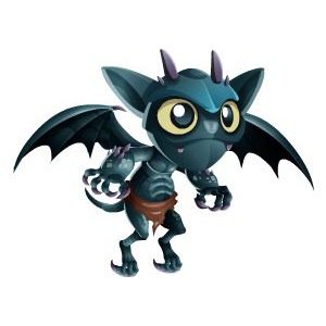 An image of the greygoyle Monster in child form