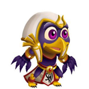 An image of the horus Monster in child form