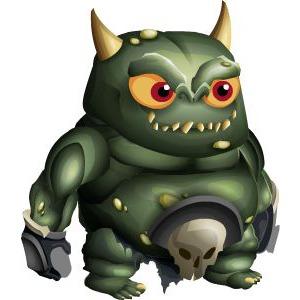 An image of the kaldrekk Monster in child form