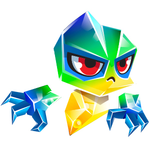An image of the pulseprism Monster in child form