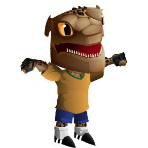 An image of the rockinho Monster in child form