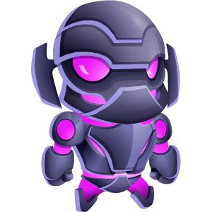 An image of the ultrabot Monster in child form