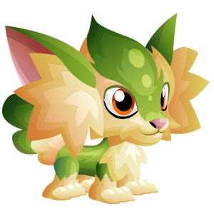 An image of the vixsun Monster in child form