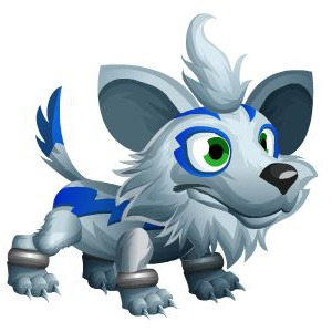 An image of the Wolfkami Monster in child form