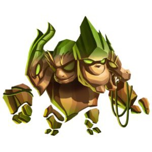 An image of the crushmore Monster in youth form