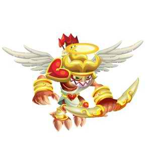 An image of the cupid Monster in youth form