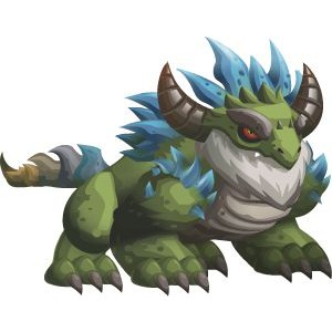 An image of the Dragonian Beast Monster in youth form