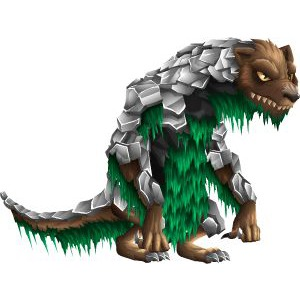 An image of the jonskeer Monster in youth form