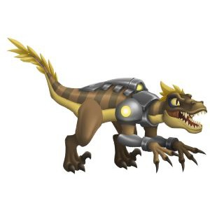 An image of the killeraptor Monster in youth form