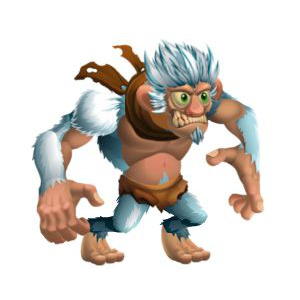 An image of the neandertaler Monster in youth form