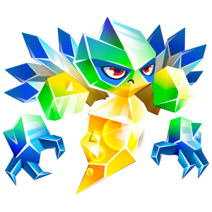An image of the pulseprism Monster in youth form