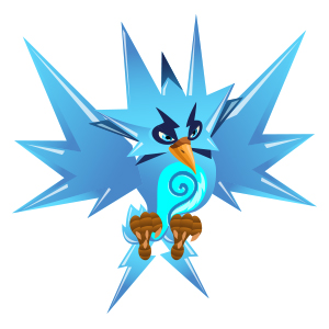 An image of the raydex Monster in youth form