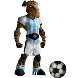 An image of the rockadona Monster in youth form