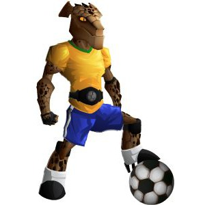 An image of the rockinho Monster in youth form