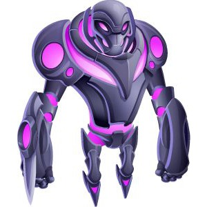 An image of the ultrabot Monster in youth form