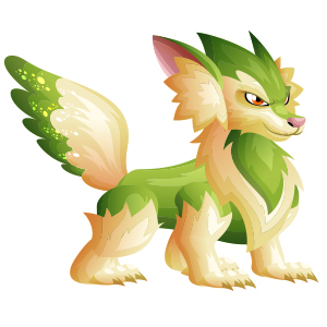 An image of the vixsun Monster in youth form