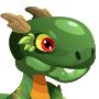 An image of a greenasaur Child