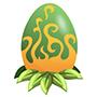 An image of a greenasaur Egg