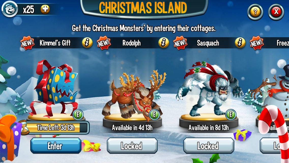Christmas Island 2014 | Monster Legends Guide