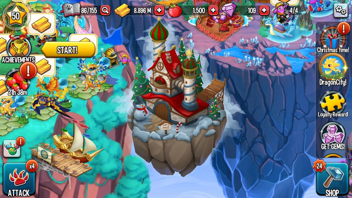 Christmas Island 2014 Monster Legends Guide